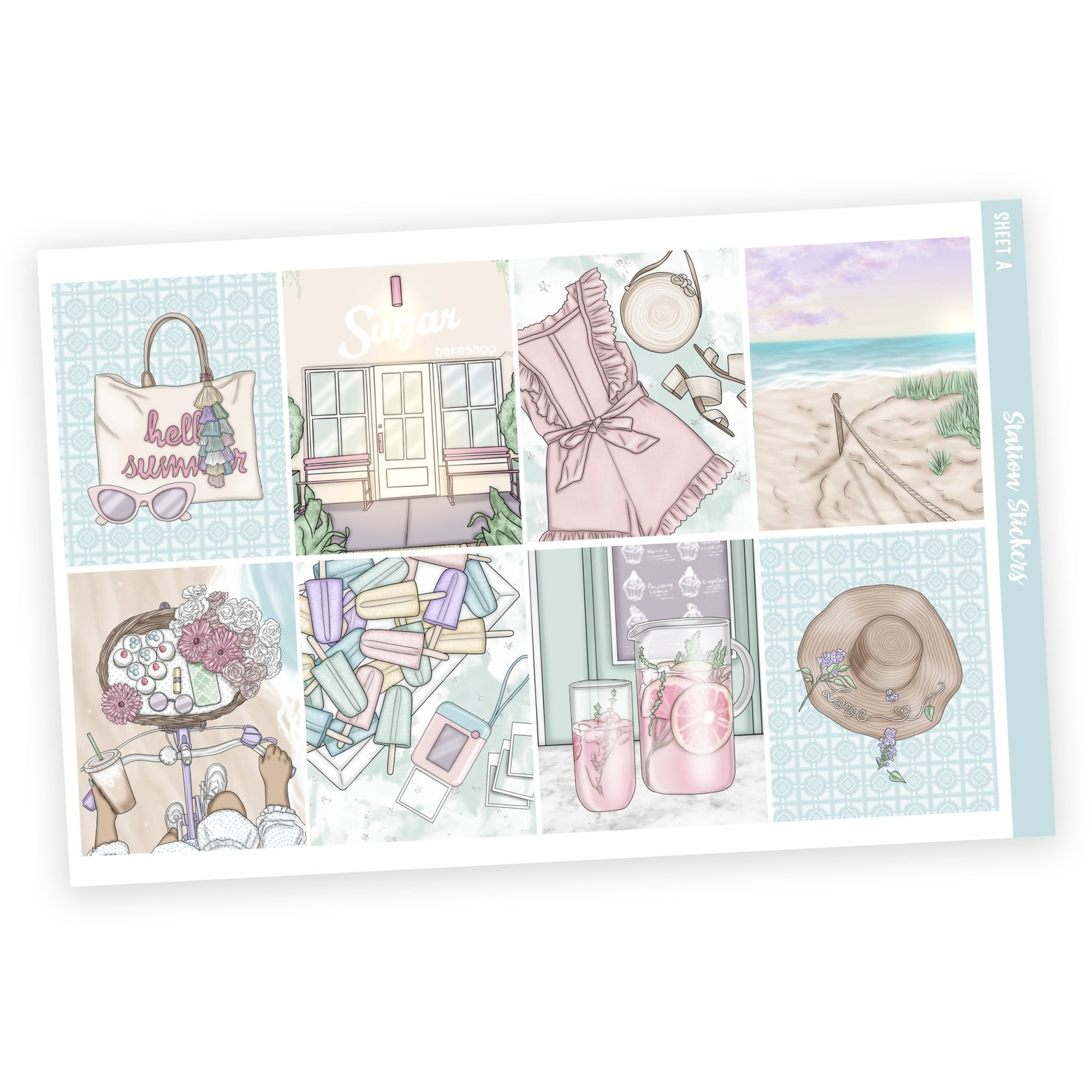 WEEKLY STICKER KIT • LEYAH