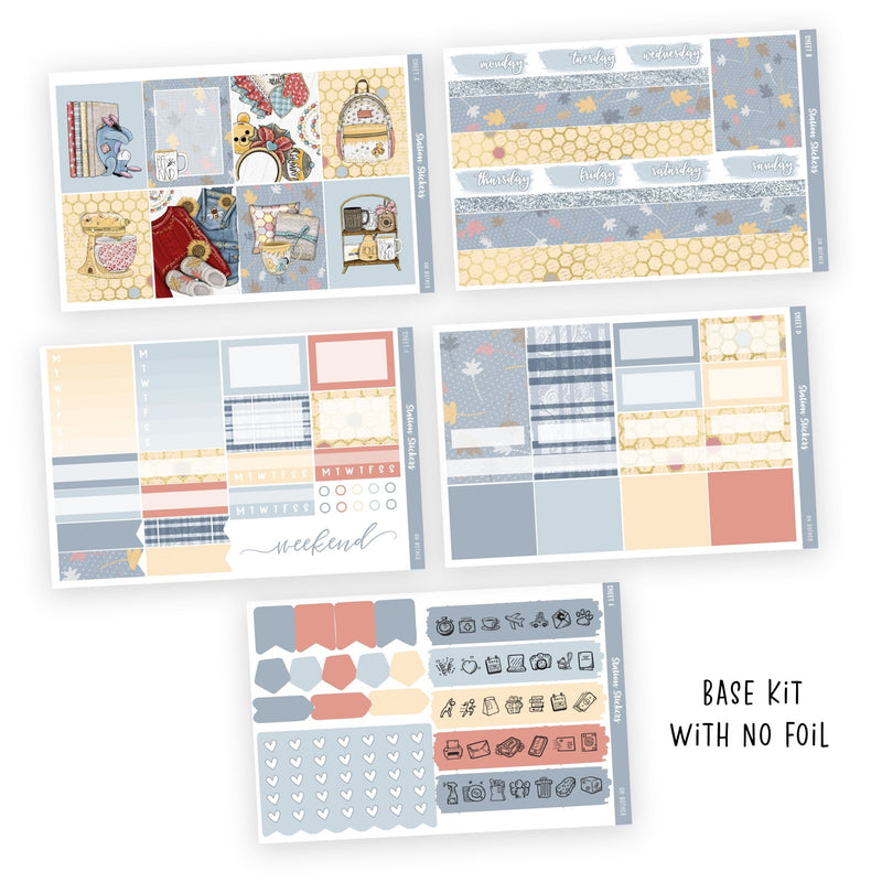 WEEKLY STICKER KIT • OH BOTHER-Station Stickers