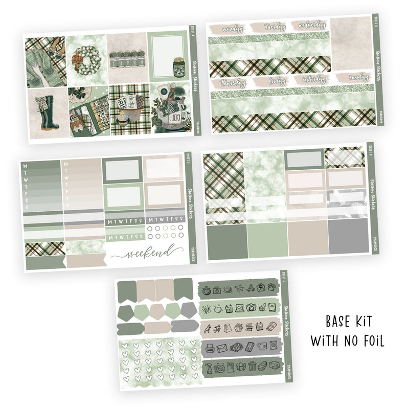 WEEKLY STICKER KIT • SHAMROCK-Station Stickers