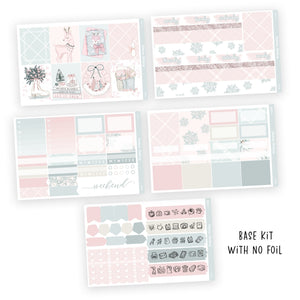 WEEKLY STICKER KIT • SNOW - Station Stickers