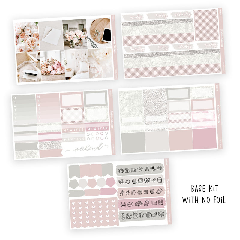 WEEKLY STICKER KIT • SPRING HOME-Station Stickers