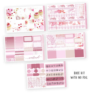 WEEKLY STICKER KIT • VALENTINE - Station Stickers