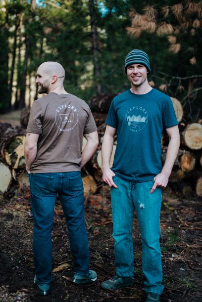 Explore Montana Compass A Men's Tee