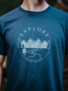 Explore Montana Wilderness Men's Tee