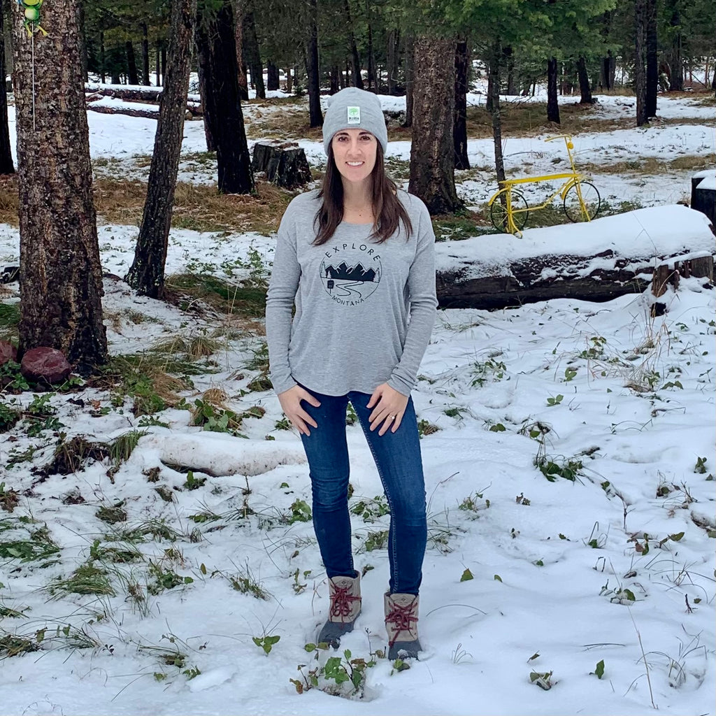 Explore Montana Wilderness Women's Long Sleeve Tee