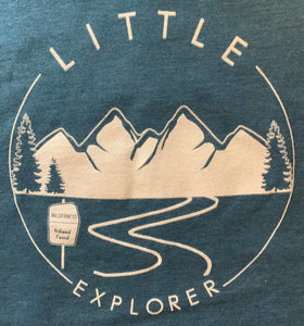Little Explorer Wilderness Youth Long Sleeve Tee