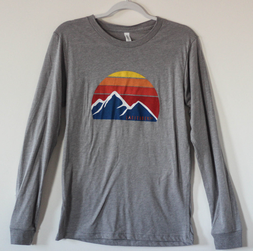 Flathead Half Moon Men's Long Sleeve Tee