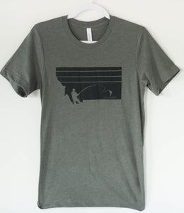 Missoula Fly Fishing Men's Tee