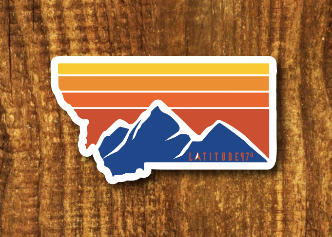 *Authentic Latitude 47° Sticker