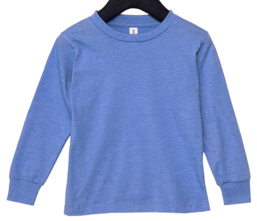 Little Explorer Wilderness Toddler Long Sleeve Tee