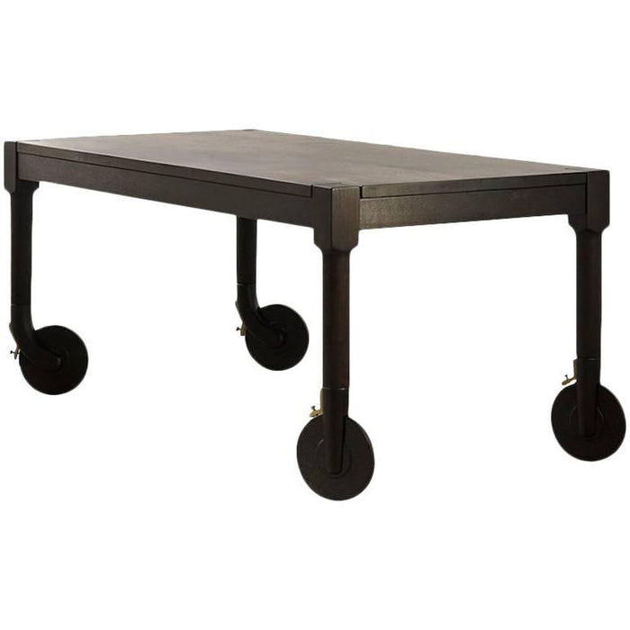 Rolling Dinning Table by Michael W. Dreeben