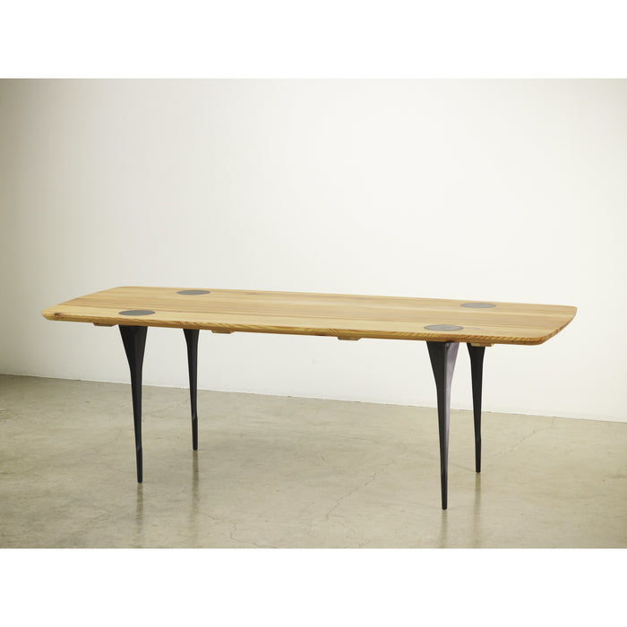 Machine Leg Dining Table by Ayush Kasliwal