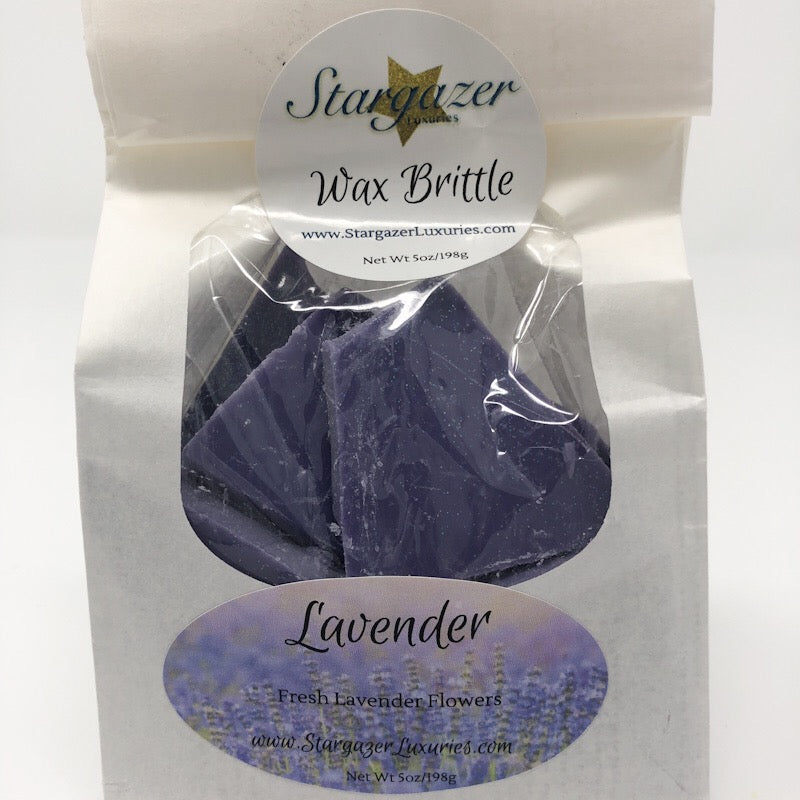 Lavender Wax Brittle