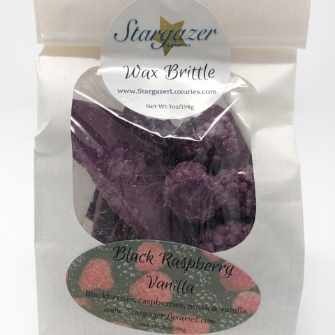 Black Raspberry Vanilla Wax Brittle