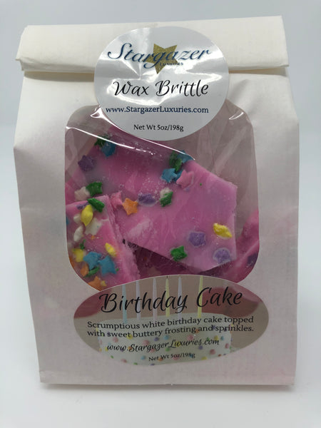 Birthday Cake Wax Brittle