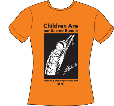 Orange Shirt to honour Residential School survivors - colouringitforward
