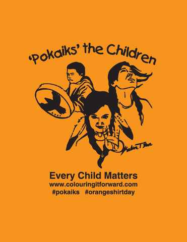 Pokaiks Orange Shirt to honour Residential School survivors (2189678215217)