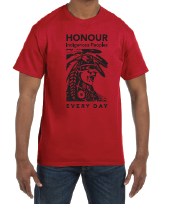 Honouring Indigenous Peoples - boy's/men's t shirt - colouringitforward