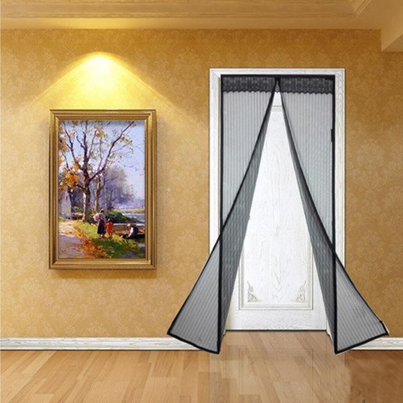 Magnetic Mesh Insect Screen Door