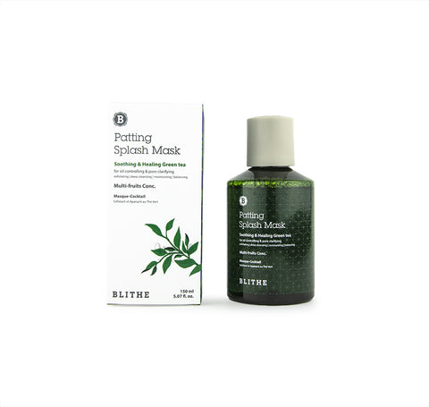 BLITHE Patting Splash Mask Green Tea Canada | Korean Skincare Mikaela