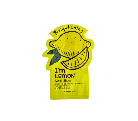 TONYMOLY I'm Lemon Mask Sheet (Brightening) Canada | Korean Skincare