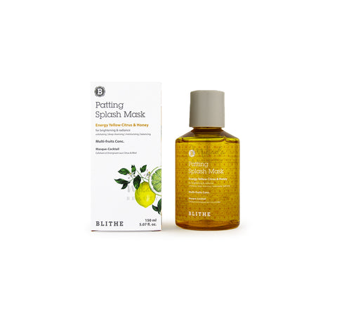 BLITHE Patting Splash Mask (Citrus & Honey) Canada | Korean Skincare