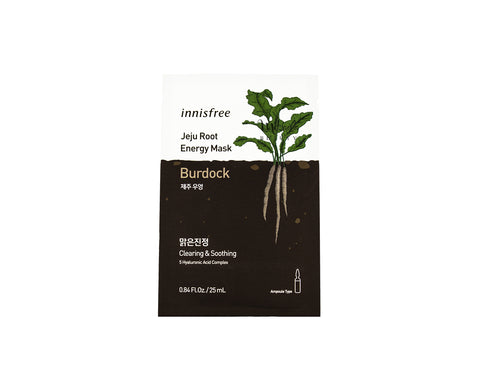 INNISFREE Jeju Root Energy Mask Burdock Canada | Korean Skincare