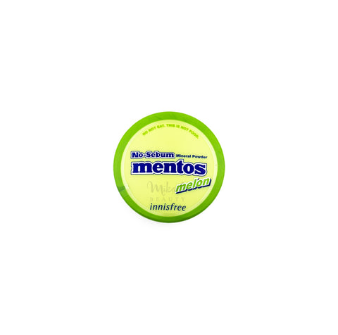 INNISFREE No Sebum Mineral Powder Mentos Melon Canada | Mikaela Beauty