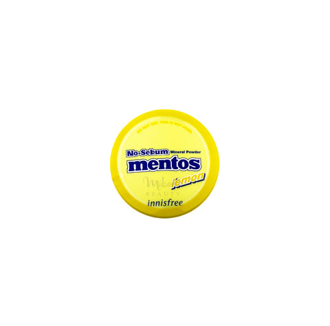 INNISFREE No Sebum Mineral Powder Mentos Lemon Canada | Mikaela Beauty
