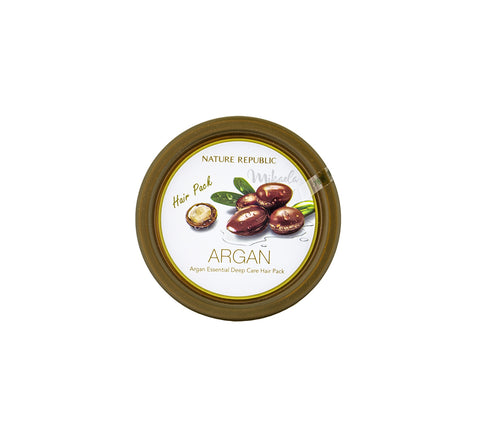 NATURE REPUBLIC Argan Essential Deep Care Hair Pack Canada | Mikaela