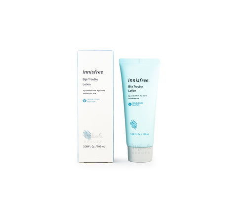INNISFREE Bija Trouble Lotion Canada & USA | Korean Skincare Mikaela