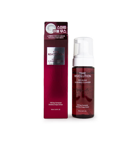 MISSHA Time Revolution Red Algae O2 Bubble Cleanser Canada & USA