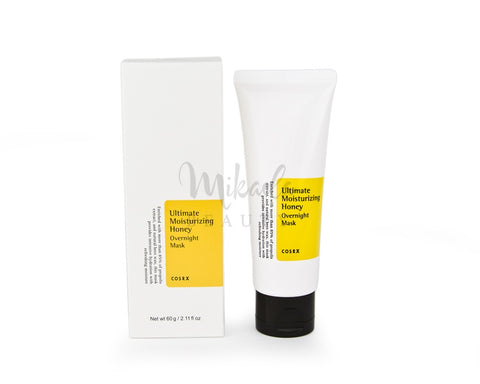 *COSRX - Ultimate Moisturizing Honey Overnight Mask (Tube) - Mikaela Beauty, Face Mask - Skincare, COSRX - COSRX, COSRX - MIZON, COSRX - BENTON