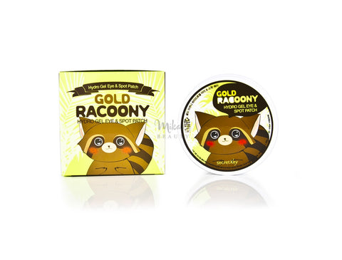 SECRET KEY Gold Racoony Hydrogel Eye & Spot Patch | Canada & US | Mikaela Beauty