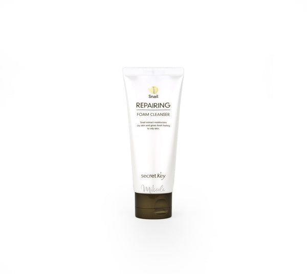 SECRET KEY Snail Repairing Foam Cleanser | Canada & USA Mikaela Beauty
