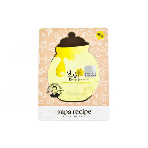 Papa Recipe Bombee Rose Gold Honey Mask | Canada & USA Mikaela Beauty