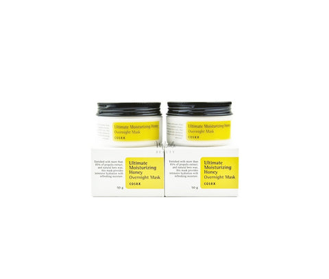 COSRX Overnight Duo Pack - Moisturzing Honey Masks Canada Mikaela BeautyCOSRX - Overnight Duo Honey Tub Pack | Korean | Canada Mikaela Beauty