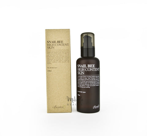 BENTON Snail Bee High Content Skin | Korean Skincare | Canada & USA