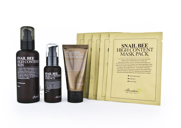 Benton - Snail Bee Pack Plus - Toner Essence Cream Mask | Canada & USA