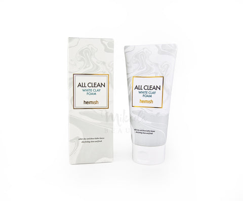 Heimish All Clean White Clay Foam | Korean Skincare | Canada & USA