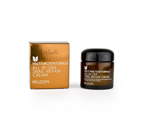 MIZON All in One Snail Repair Cream  | Korean Skincare Canada Mikaela