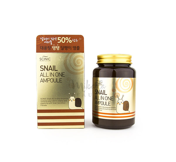 SCINIC - Snail All in One Ampoule  | Korean Skincare | Canada & USA
