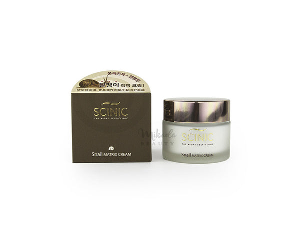 SCINIC Snail Matrix Cream  | Korean Skincare | Canada & USA | Mikaela