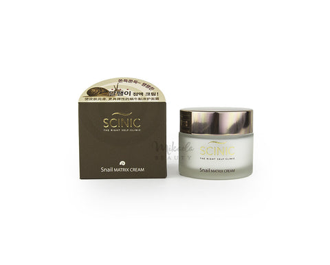 SCINIC - Snail Matrix Cream-SCINIC-Mikaela Beauty