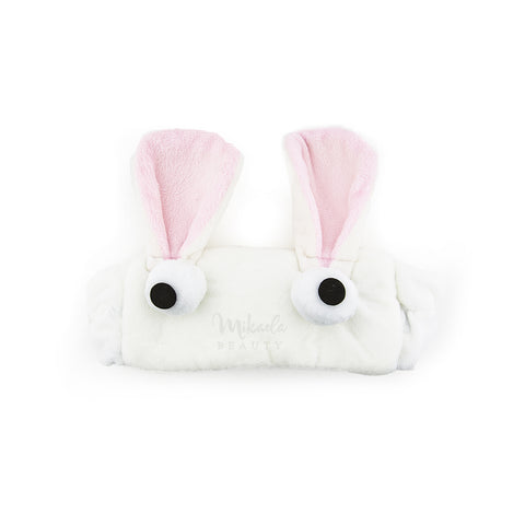 Cute Hair Band Bunny Ears White | Korean skincare | Canada & USA