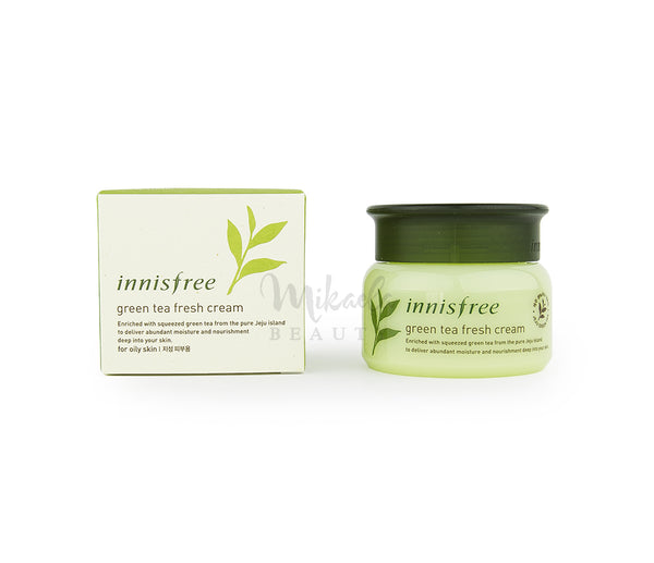 INNISFREE Green Tea Fresh Cream | Korean Skincare Canada | Mikaela