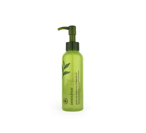 INNISFREE Green Tea Balancing Cleansing Oil | Korean Skincare | Canada