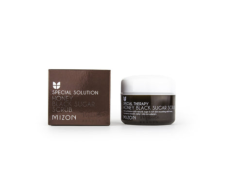 MIZON Honey Black Sugar Scrub | Korean Skincare Canada | Mikaela