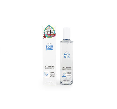 ETUDE HOUSE Soonjung pH 5.5 Relief Toner | Canada | Mikaela Beauty