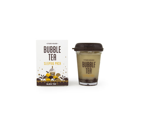 ETUDE HOUSE Bubble Tea Sleeping Pack Black Tea Korean Skincare Canada